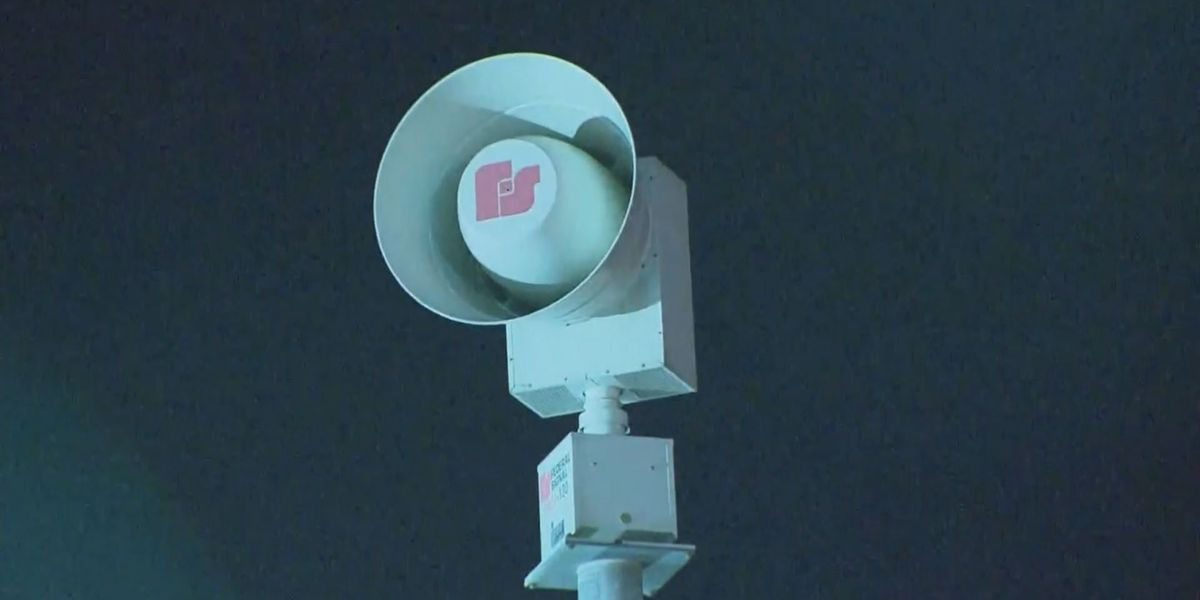 Emergency officials evaluate the vulnerability of Amarillo sirens