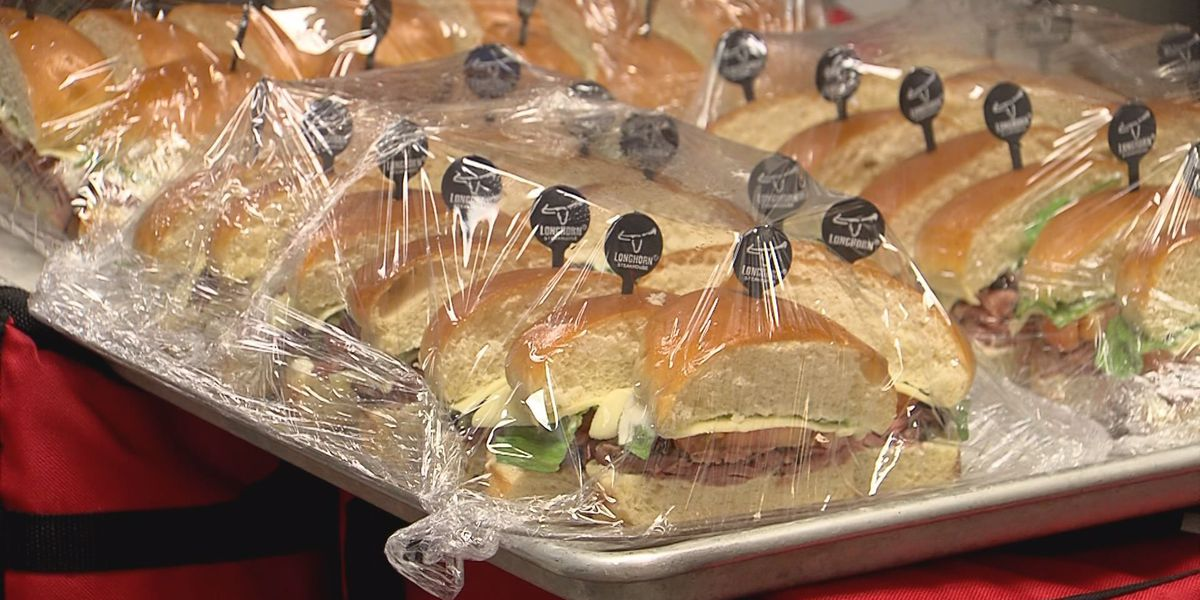 Local businesses host first responders appreciation lunch