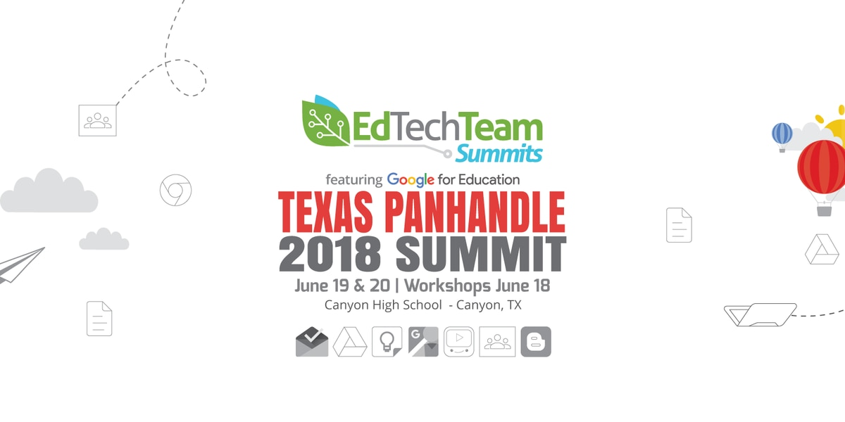 Canyon ISD hosts the 2nd Annual EdTech Team Texas Panhandle Summit