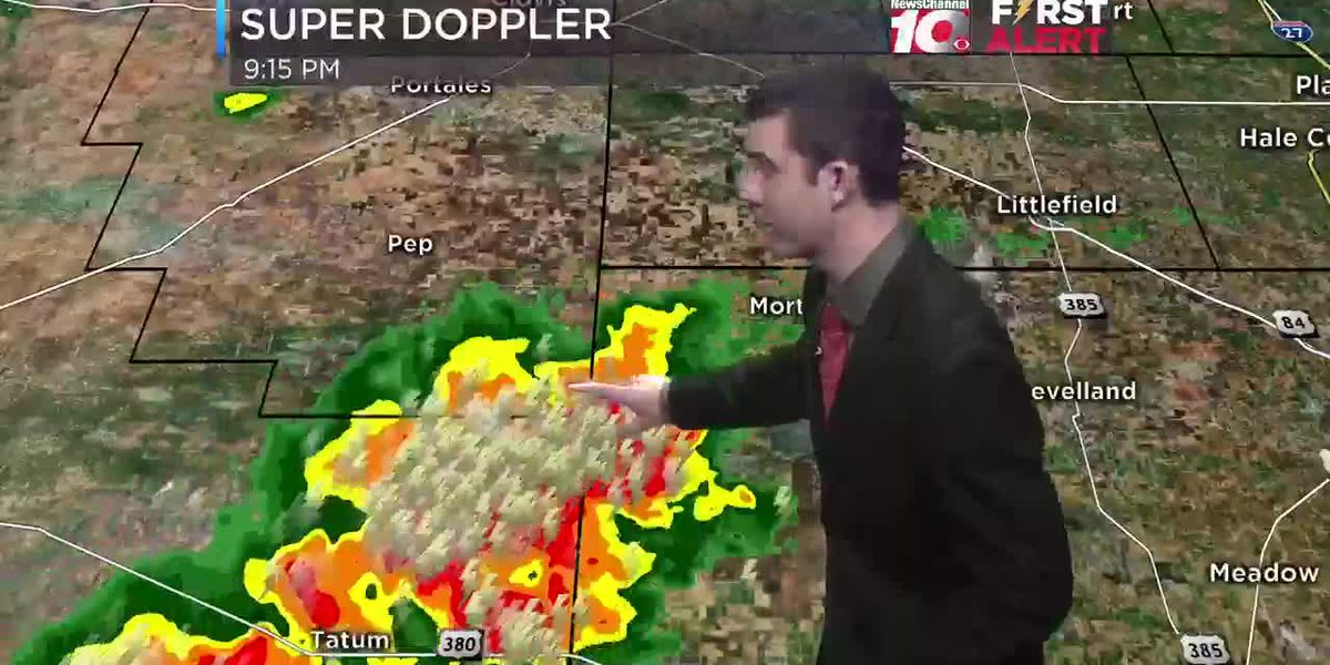 Weather Update with Cameron Venable @ 9:30 p.m.