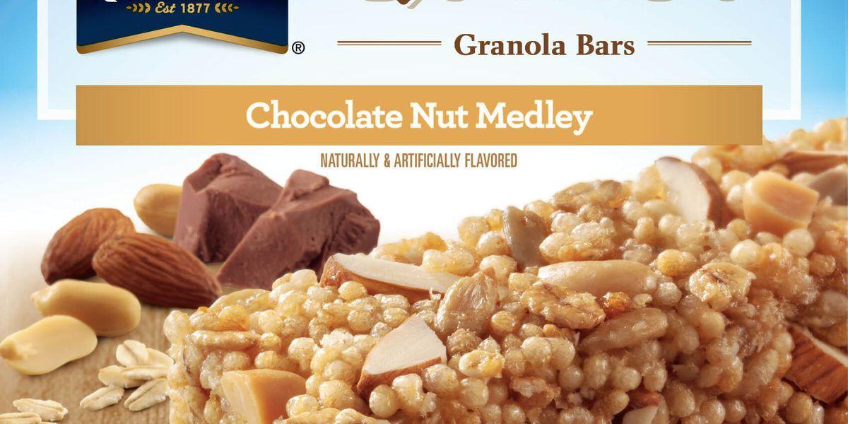 Quaker Oats issues recall of Quaker Quinoa Granola Bars