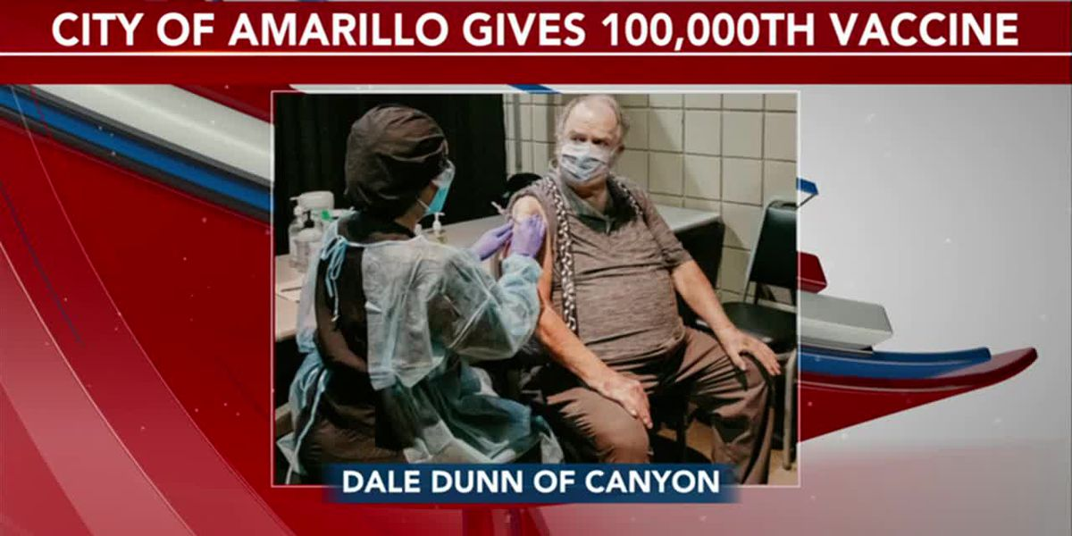 VIDEO: Amarillo reaches 100,000 COVID-19 vaccination at Civic Center