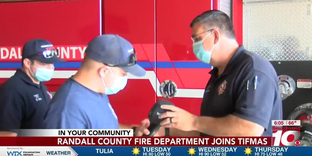Local fire department accepted into program that helps fight fires nationally