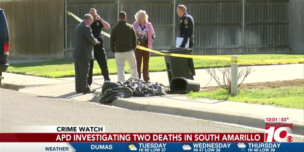VIDEO: Police investigating after 2 found dead in south Amarillo home