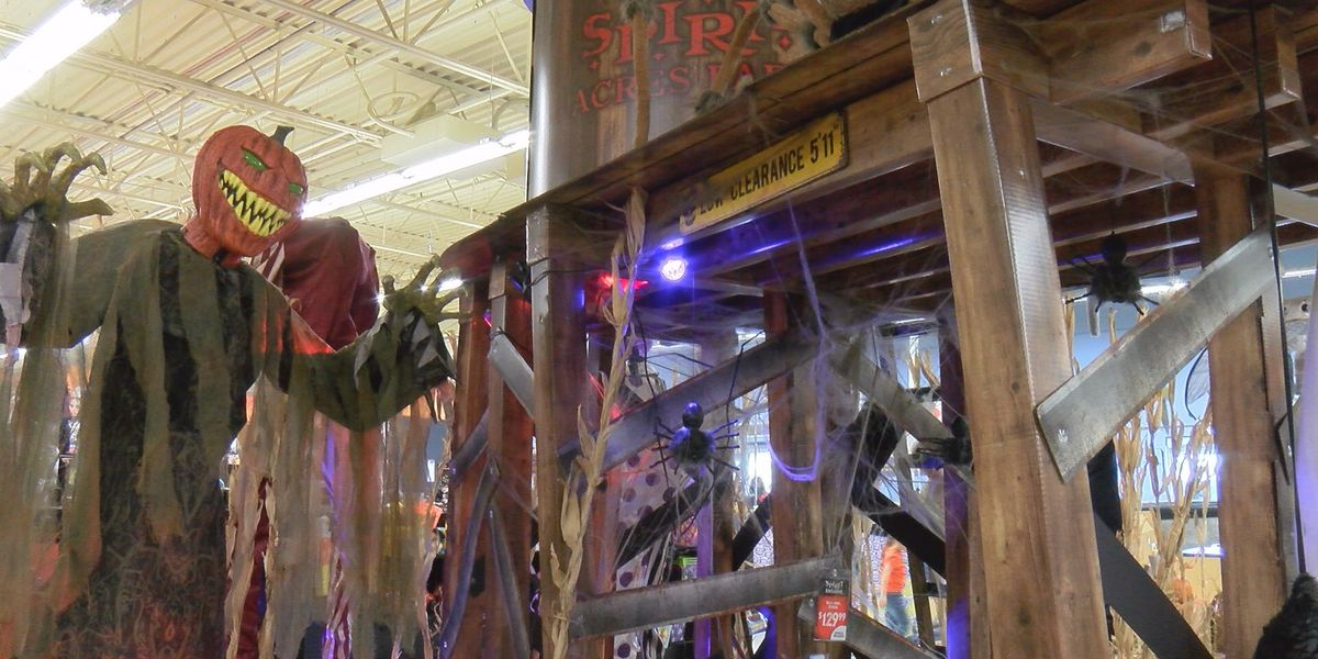 Spooky season in Amarillo: Seasonal businesses prepare for Halloween weekend