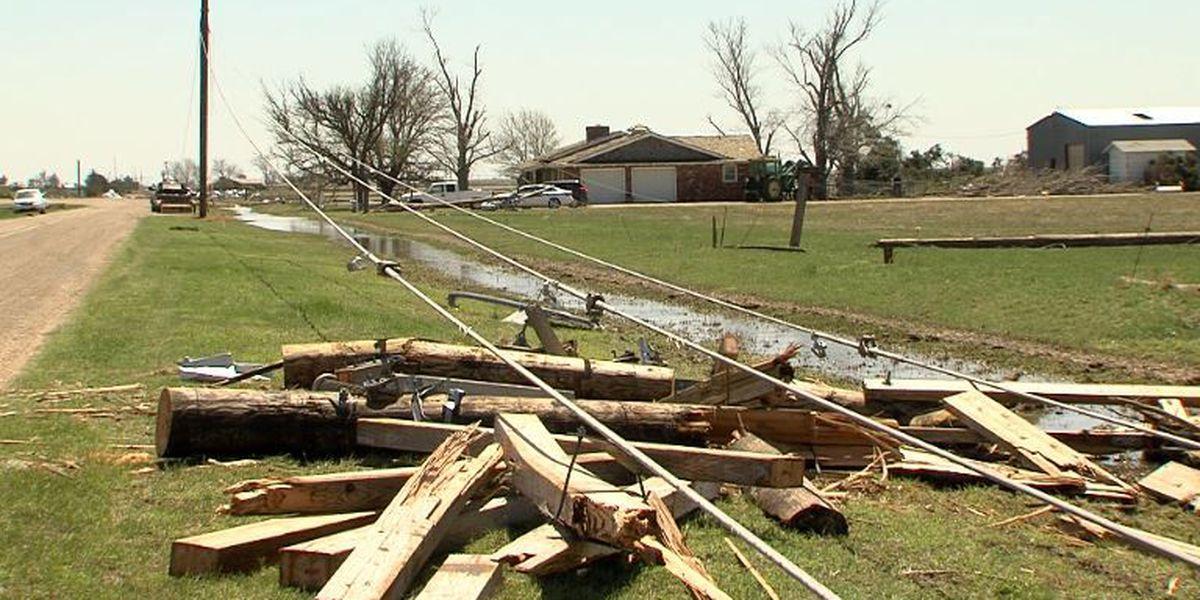 Storm near Dimmitt damages major Xcel transmission line