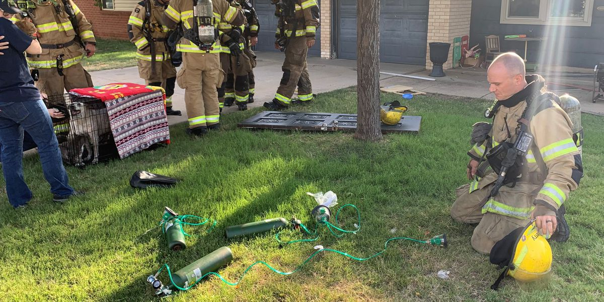 Family loses pet due to fire at an Amarillo home Wednesday morning
