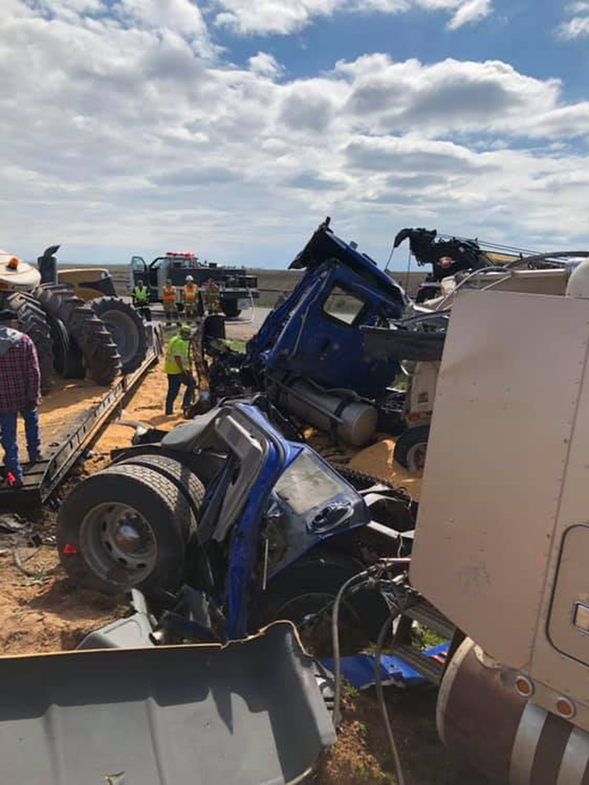 Names released of those involved in Hartley County wreck