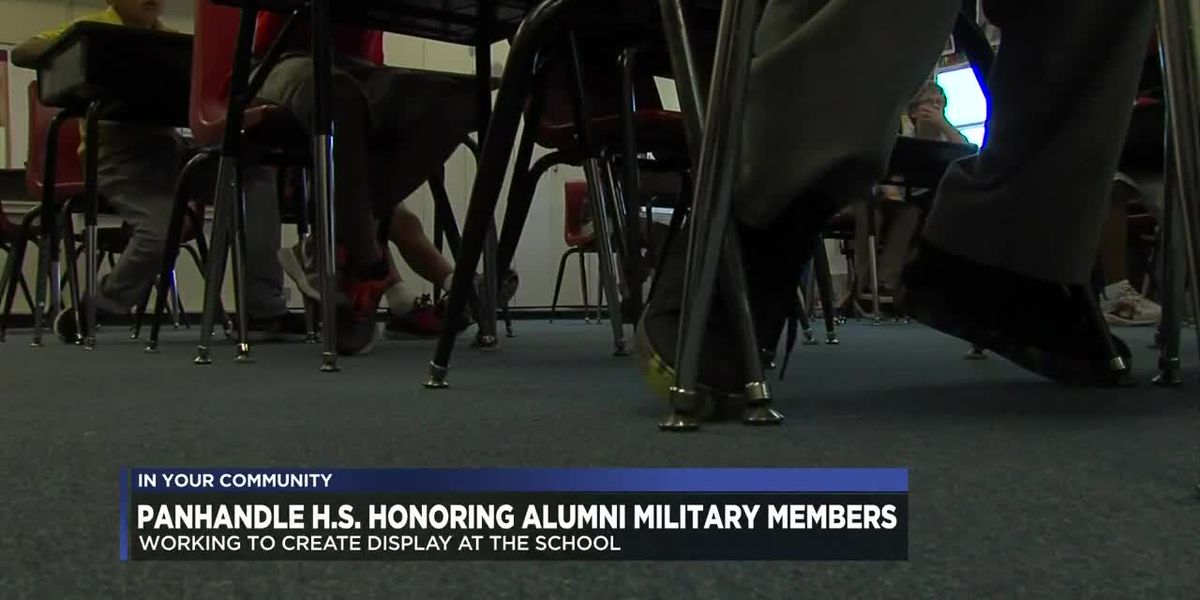 Panhandle High School honoring alumni who served in the military