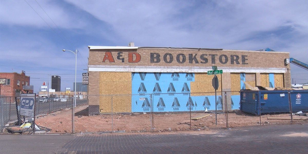 New life into an old building: Development project coming to original A&D Bookstore downtown