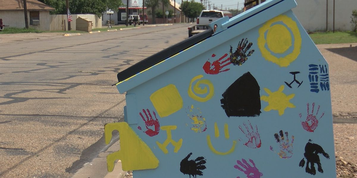 Area students help make Borger beautiful