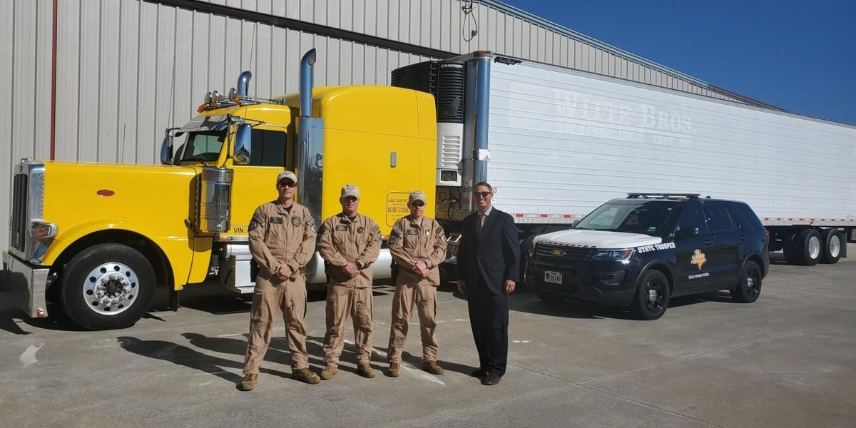 Texas DPS awarded semi-truck seized in drug bust to be used for law enforcement purposes
