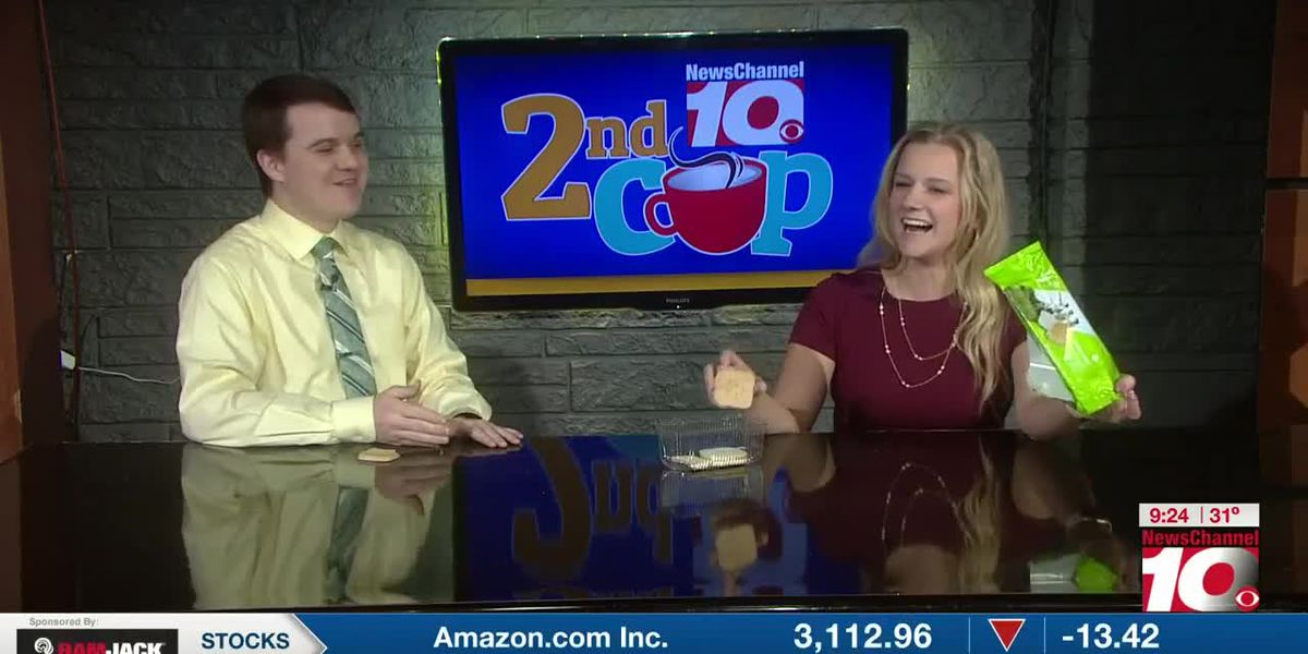 KFDA 2nd Cup: Shelden and Penny try the new Girl Scout Cookie - 'toast-yay!'