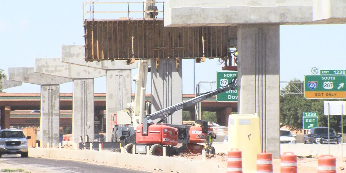 Amarillo officials disappointed with TxDOT progress