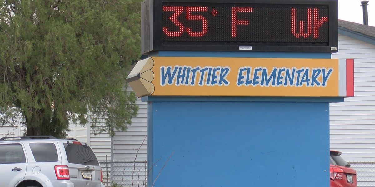 Students asked to layer up as Whittier Elementary School turns off main heating system