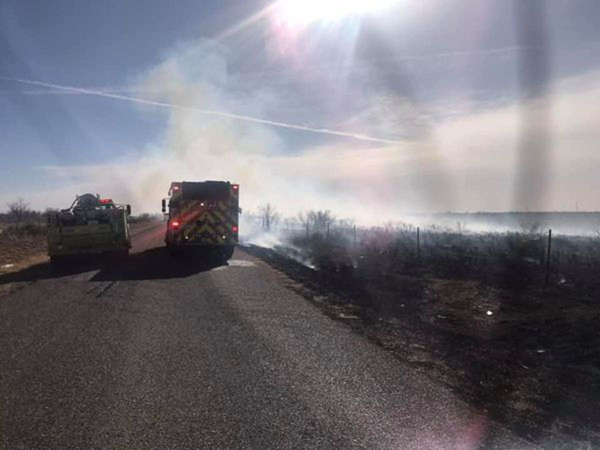 Crews currently battling fire on Smelter Road, avoid area