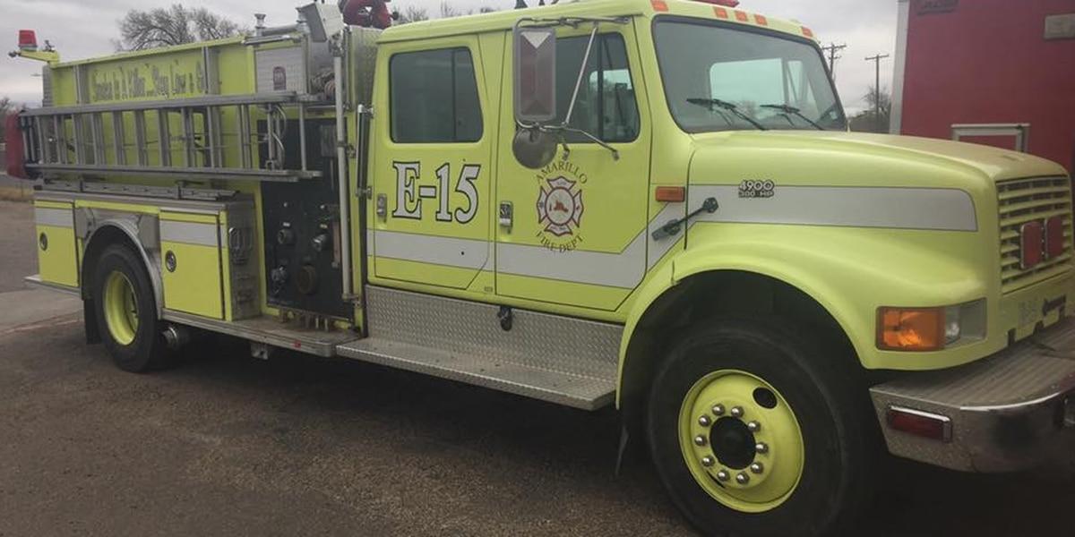 Amarillo Fire Department retires last green firetruck