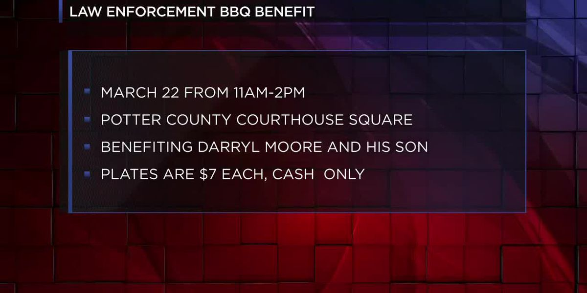 Potter County Sheriff's Office hosting benefit for employee