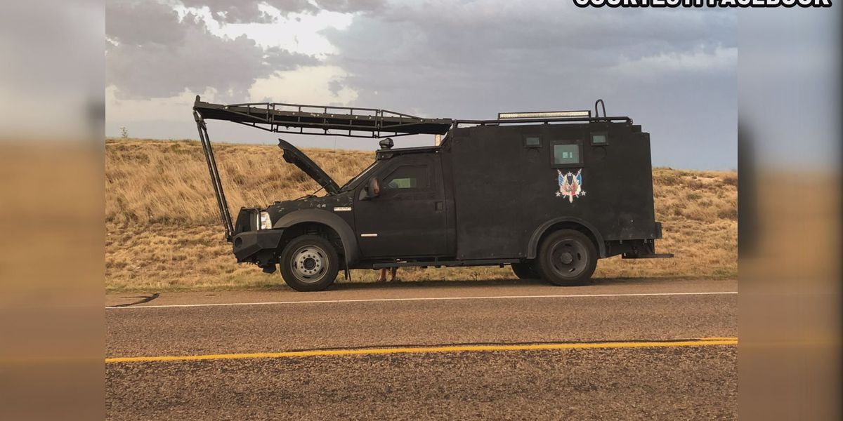 Staying cool under pressure: Broken air conditioner is latest problem to affect the APD SWAT vehicle