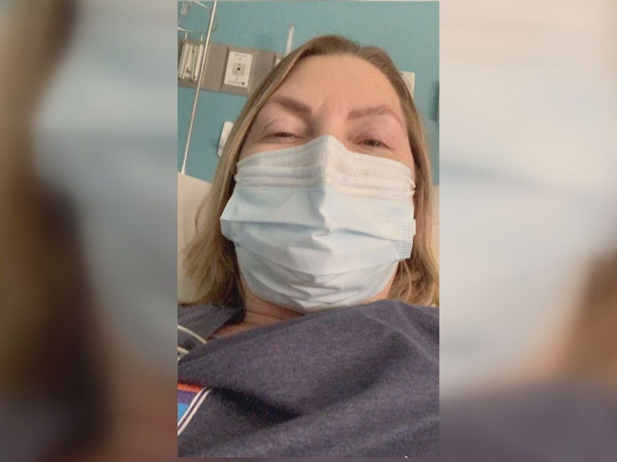 """It was the worst 2 weeks of my life"": Woman recovers from coronavirus"