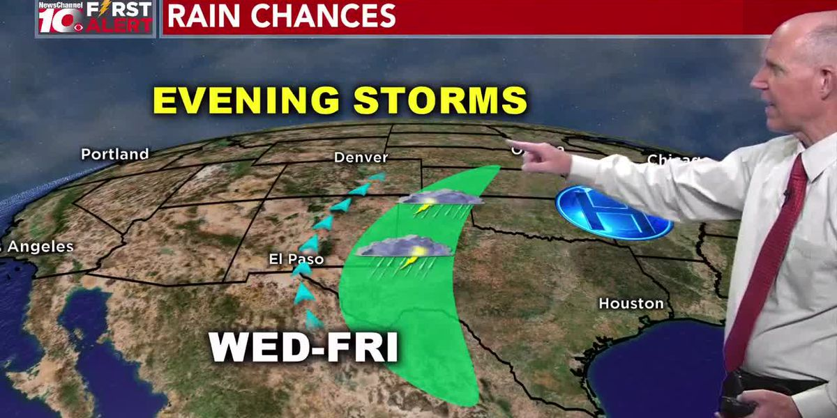 Doppler Dave's Outlook Includes Better Rain Chances