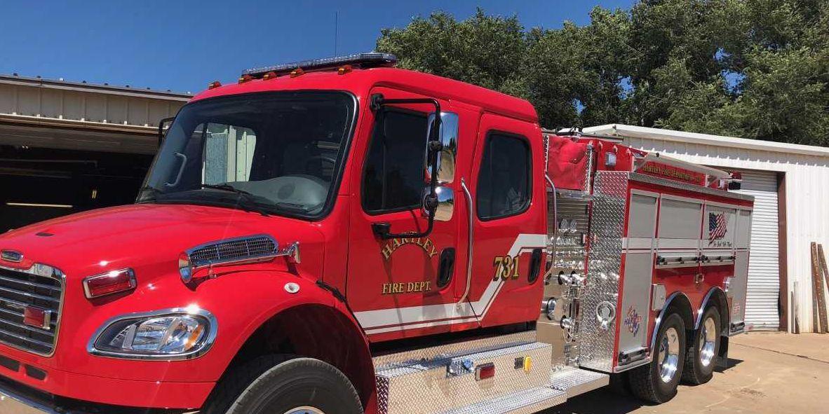 Hartley Volunteer Fire Department receives $200,000 grant