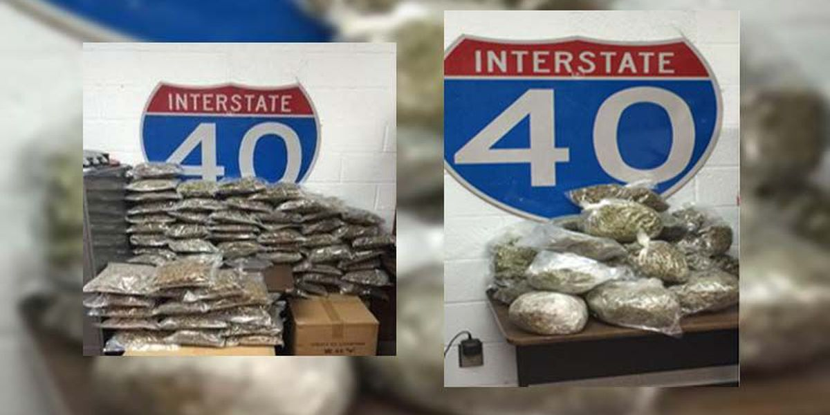 Troopers uncover marijuana in multiple weekend traffic stops