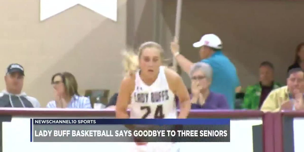 Lady Buff Basketball says goodbye to three seniors
