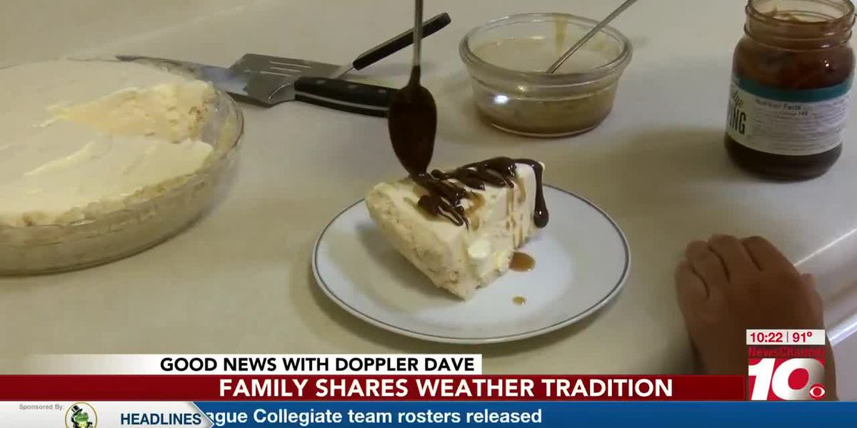 VIDEO: Good News: Amarillo family pie recipe proven to bring rain during a drought