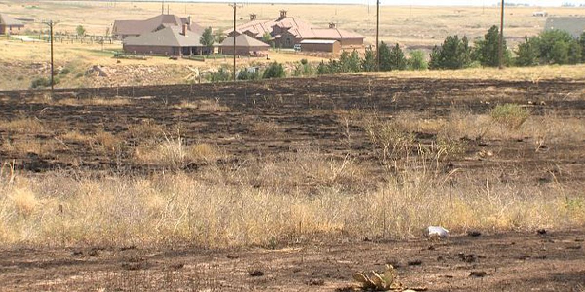 Fireworks cause grass fires in Moore County