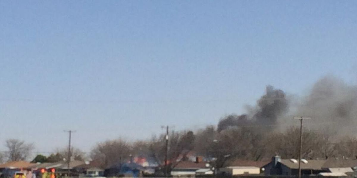 Emergency crews battle fire near Osage and Longhorn Trail