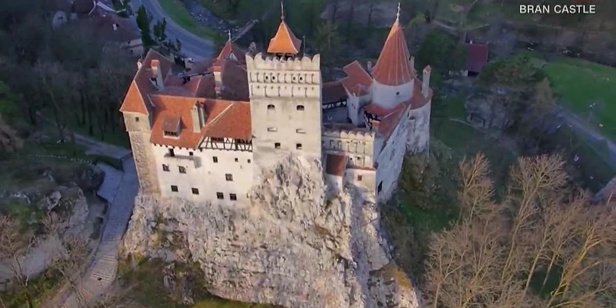 Dracula's castle proves an ideal setting for COVID-19 jabs