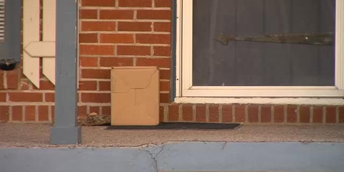 Holidays nearing--package theft already beginning