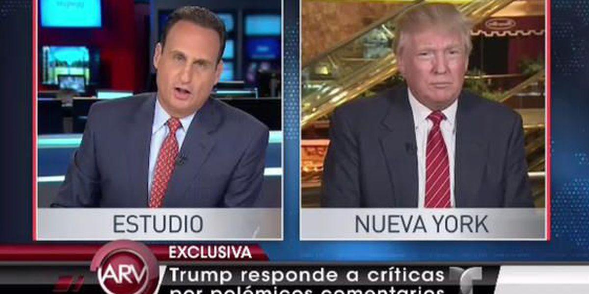 Donald Trump rompe el silencio