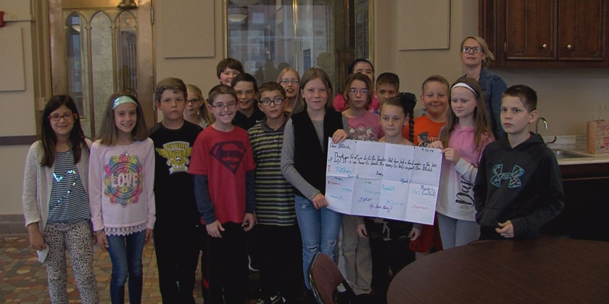 Bushland Elementary students donate $450 to 100 Club of The Texas Panhandle