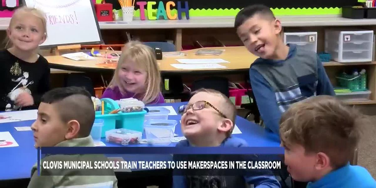 Clovis Municipal Schools train teachers to use Makerspaces in the classroom