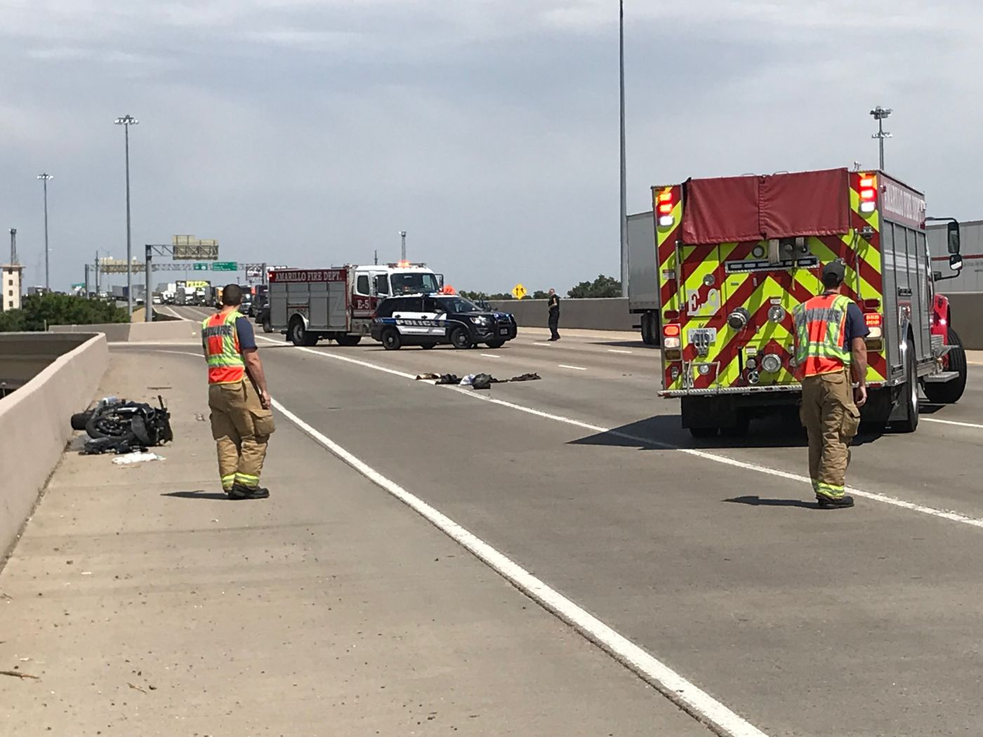 I 40 Interchange Accident Sends Motorcyclist To The Hospital