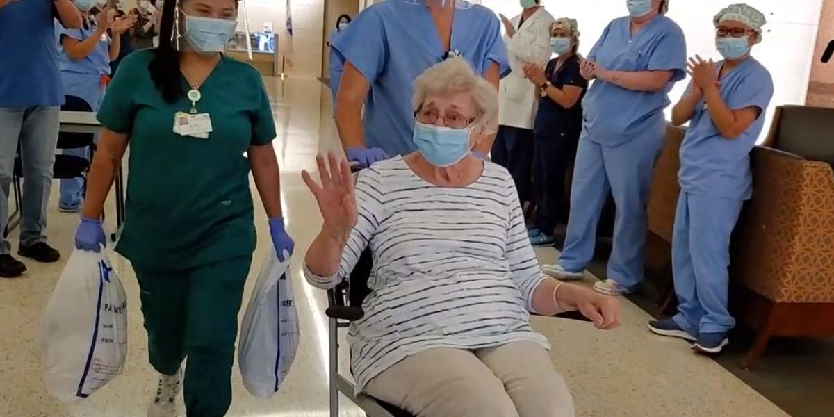 99-year-old COVID-19 patient released from hospital, days before her 100th birthday