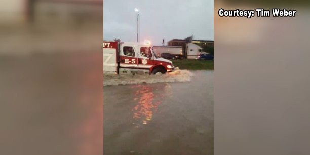 Amarillo Fire responds to 50 vehicles stranded in floodwaters over the weekend