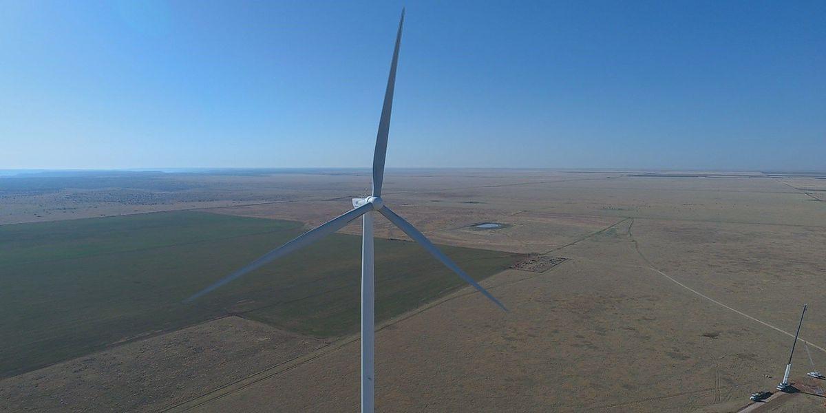 WTAMU's wind turbine is the tallest in the U.S.