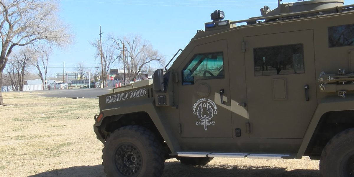 New Amarillo SWAT vehicle makes difference for responding officers