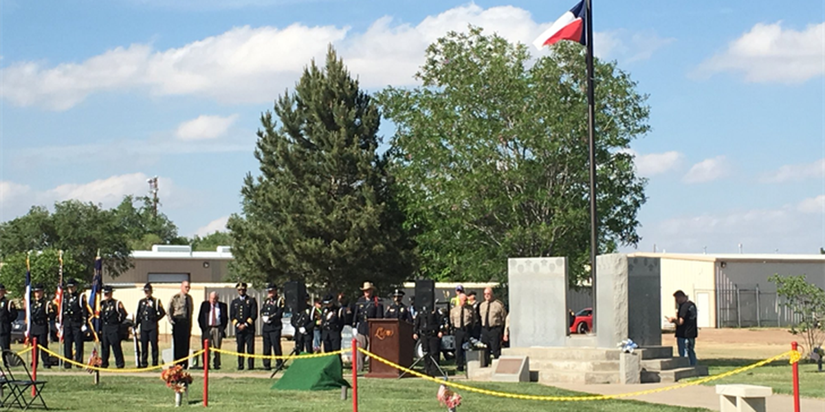 Amarillo Police remember their fallen in Panhandle-wide ceremony