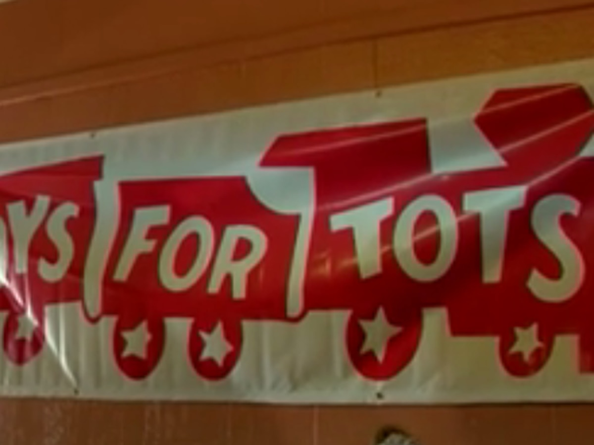 Toys For Tots parade on Sunday
