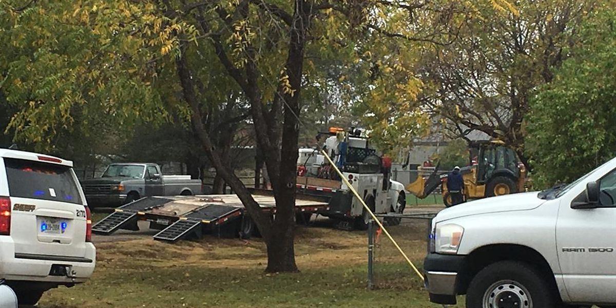 Gas line servicing elementary school damaged, students kept indoors