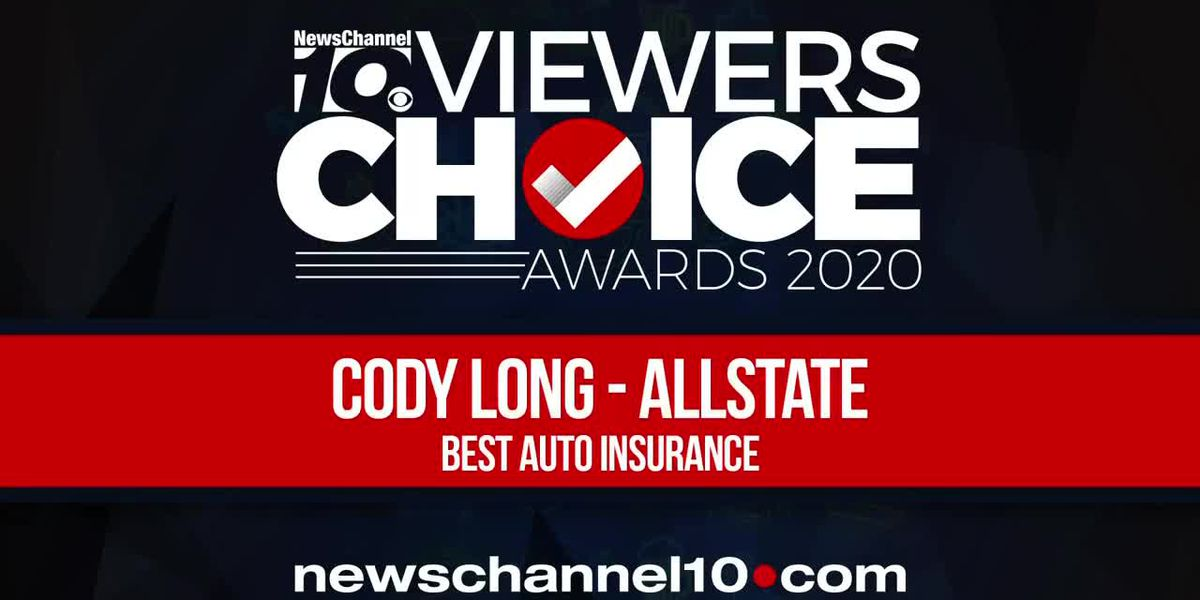 VIEWERS CHOICE AWARDS: CODY LONG - ALLSTATE WINS BEST AUTO INSURANCE