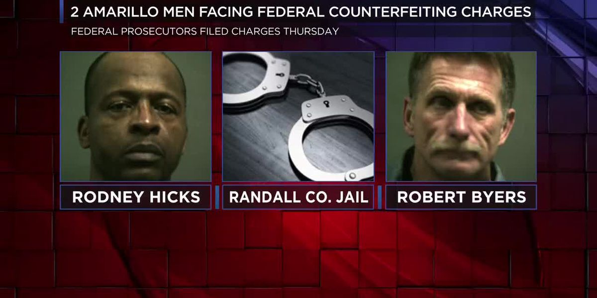 VIDEO: 2 Amarillo men facing federal counterfeiting charges