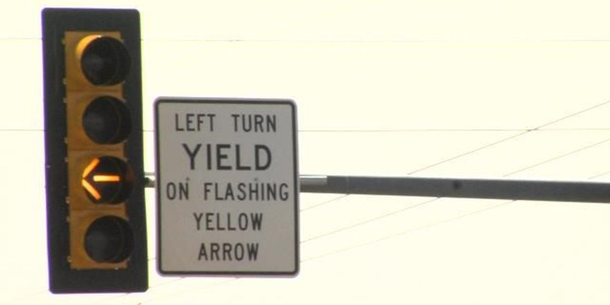 New turning arrow to help traffic flow at intersection in Amarillo