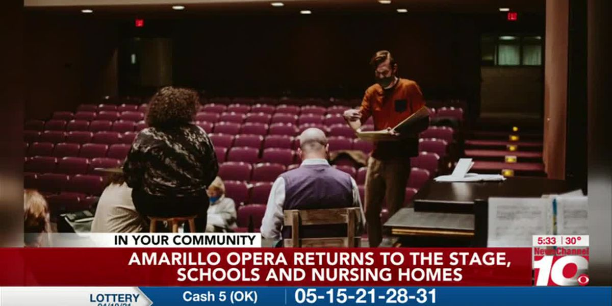 VIDEO: Amarillo Opera Returns To The Stage, Schools and Nursing Homes