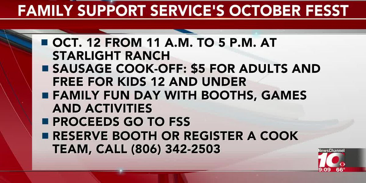 INTERVIEW: Learn all the details about Family Support Service's October FeSSt