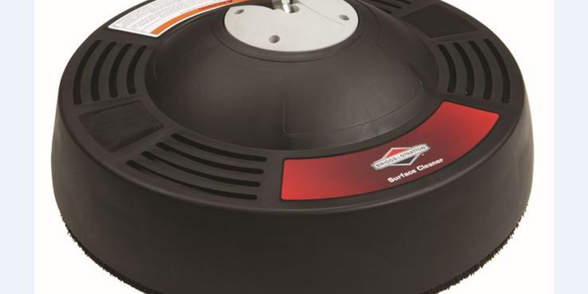 RECALL ALERT: Briggs & Stratton recalls surface cleaners due to injury hazard